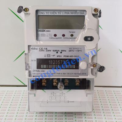 Công Tơ Điện Tử 1 Pha 3 Giá EMIC CE-14