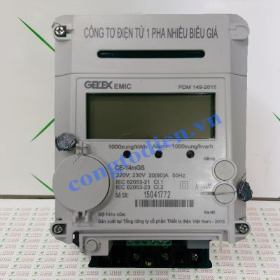 Công Tơ Điện Tử 1 Pha 3 Giá CE-14mGS