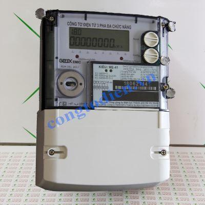Công Tơ Điện Tử 3 Pha Gián Tiếp Gelex EMIC ME-41