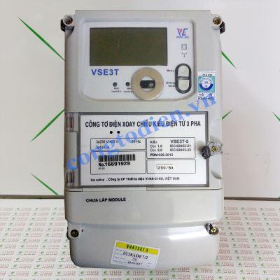 Công Tơ Điện Tử 3 Pha Gián Tiếp VSE3T-5