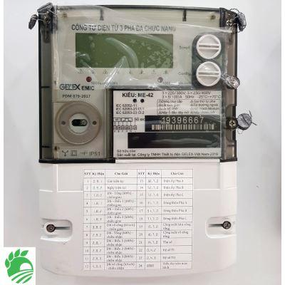 Công Tơ Điện Tử 3 Pha Trực Tiếp Gelex EMIC ME-42